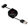 USB A Fiş - iPhone 4S/iPad Fiş Sarılabilir 0.75m