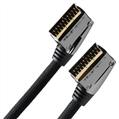 Scart kablo,V3 ,metal,2m