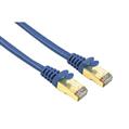 Ağ Kablosu CAT5E STP Altın Uç Mavi 5m
