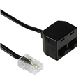 ISDN Uz.Kablosu US8p4c Fiş - 2xUS8p4c Soket 3m