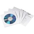 CD Zarfı Kağıt İndeksli Beyaz 50 Adet