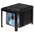CD/DVD Zarf Rafı 120 Adet Siyah