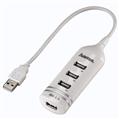 USB 2.0 Hub 1:4 Bus Powered Beyaz