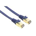 Ağ Kablosu CAT5E STP Altın Uç Mavi 1.5m