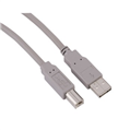 USB 2.0 A Fiş - B Fiş Gri 1.8m