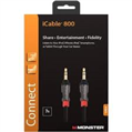iCable 800 , Mobile 3.5mm-3.5mm Kablo,2.1m