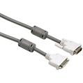 DVI - DVI Soket Single Link Gri 1.8m