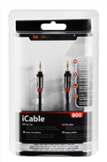 iCable 3.5mm-3.5mm Kablo,1m