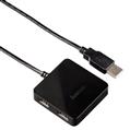USB 2.0 Hub 1:4 Bus Powered Siyah