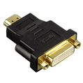 Adaptör HDMI Fiş - DVI Soket Altın Uç Siyah