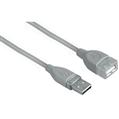 USB Uzatma 2.0 A Fiş - A Soket Gri 3m