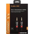 iCable 800 Mobile 3.5mm-3.5mm Kablo,0.9m