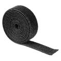 Kablo Düzenleyici Cırtcırtlı Bant Siyah 1m