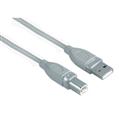 USB 2.0 A Fiş - B Fiş Gri 5m