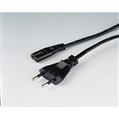 Güç Kablosu Radyo+Kasetçalar Siyah 2.5m
