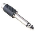 Adaptör 6.3mm Stereo Fiş - RCA Soket