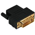 Adaptör HDMI Soket - DVI/D Fiş Altın Uç Siyah