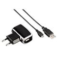 Şarj Cihazı USB+Micro USB Kablo