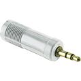 Adaptör 2.5mm Stereo Fiş - 3.5mm Soket Beyaz