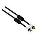 HS HDMI Manyetik Filtre Altın Uç Siyah 1m