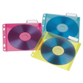 CD Zarfı Dosyalanabilir 25 Adet Renkli