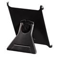 iPad2 Kılıfı Standlı Plastik Siyah