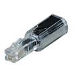 Telefon/Ahize Kordon Ucu 6p4c Fiş/Soket Transparan