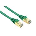 Ağ Kablosu CAT5E STP Altın Uç Yeşil 3m