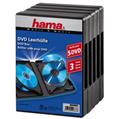 DVD Kutusu Altılı 5 Adet Siyah