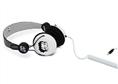 Betty Boop OE Kulaklık, Siyah-Beyaz