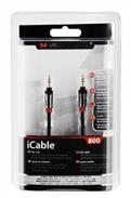 iCable 3.5mm-3.5mm Audio Kablo,2.1m