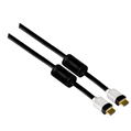 HS HDMI Manyetik Filtre Altın Uç Siyah 2m