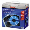 CD Kutusu İnce 100 Adet Transparan/Siyah