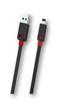iPhone 5 Lightning USB Kablo, Siyah, 1m