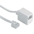 ISDN Uzatma Kablosu US8p4c Beyaz 15m
