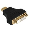 Adaptör HDMI Fiş - DVI/D Dual Link Soket Altın Uç
